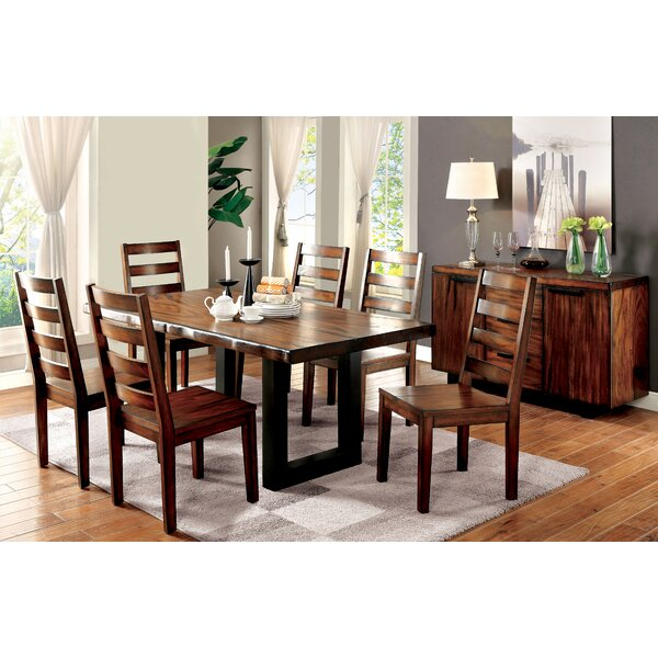 Timberlane 7 Piece Dining Set by Loon Peak