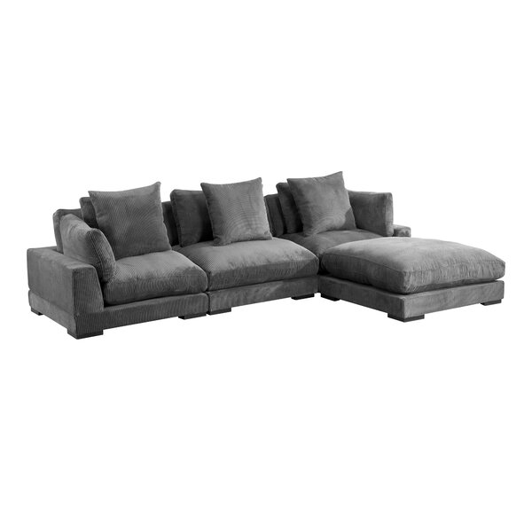 Lytle Reversible Modular Sectional With Ottoman By Red Barrel Studio