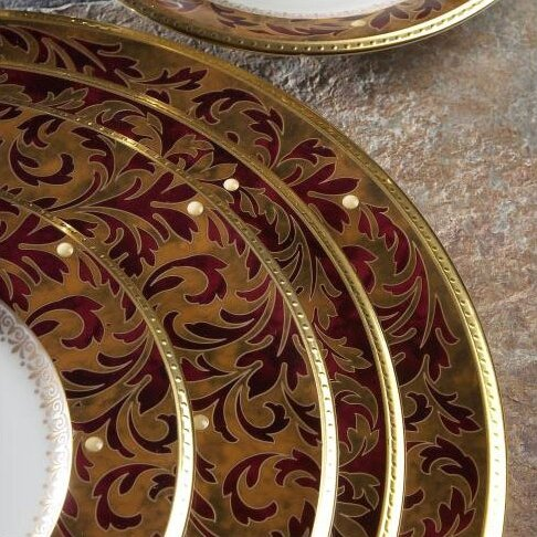 Xavier Gold Platter by Noritake
