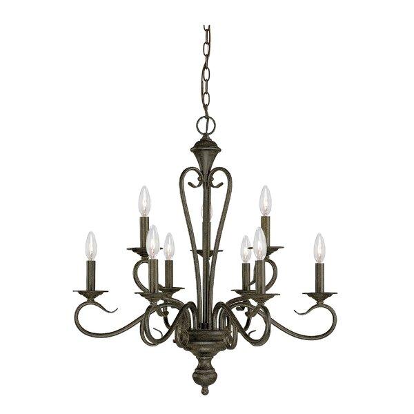 Birchview 9-Light Candle Style Tiered Chandelier by Fleur De Lis Living Fleur De Lis Living