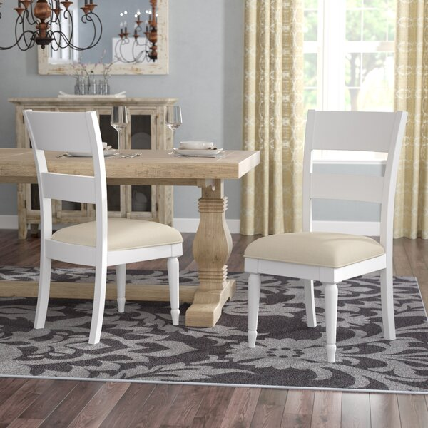 Saguenay Upholstered Dining Chair (Set of 2) by Lark Manor