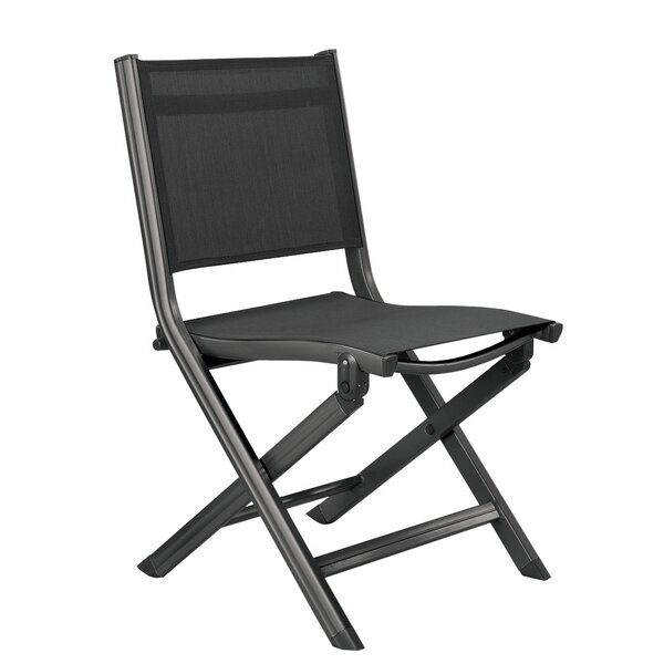 Grubbs Folding Patio Dining Chair by Highland Dunes