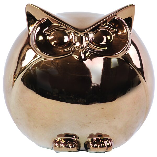 Spherical Owl Figurine by Urban Trends