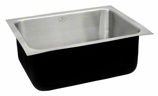 24 L x 18 W Single Bowl Undermount Kitchen Sink by Just Manufacturing