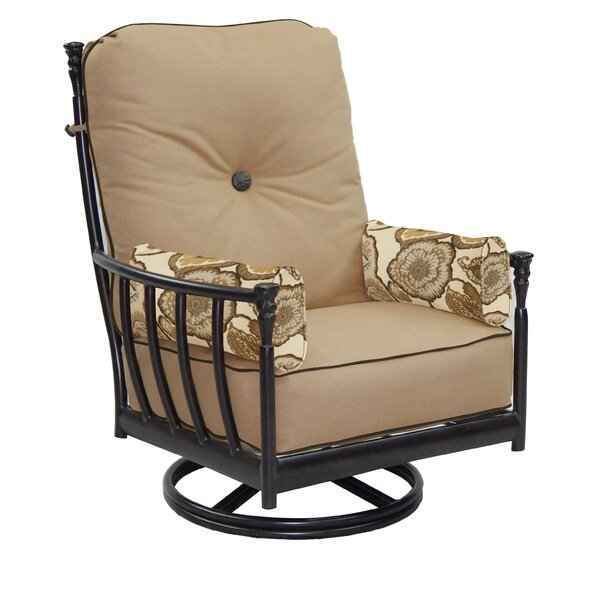 Provence Swivel Rocking Chair with Cushion by Leona