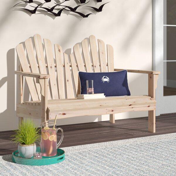 Tillie Wooden Garden Bench by Beachcrest Home Beachcrest Home