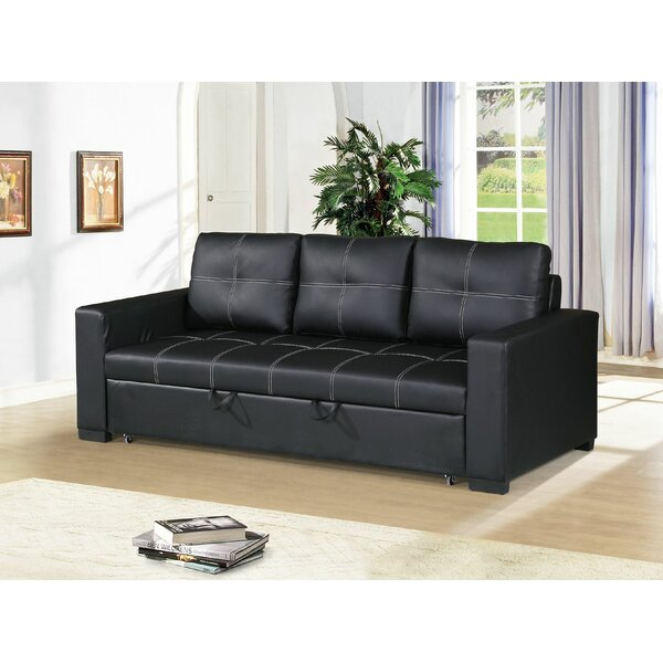 Classy Clauderson Sofa Bed by Latitude Run by Latitude Run