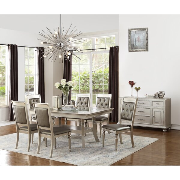 Blumer 7 Piece Dining Set by Rosdorf Park