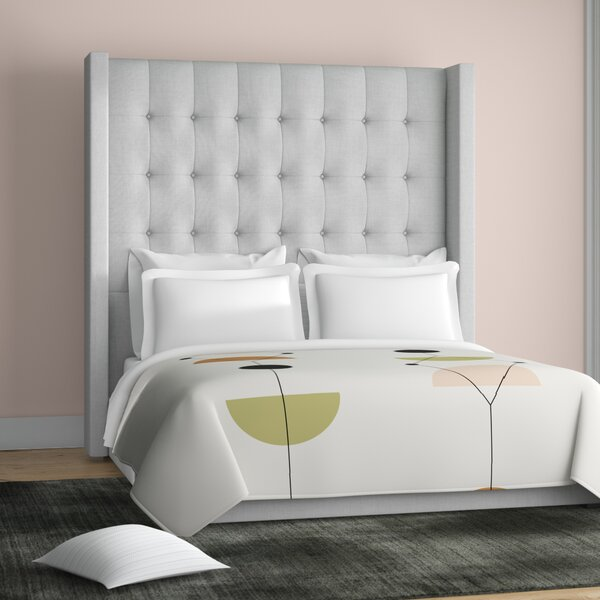 Half Moon Bay Upholstered Standard Bed by Brayden Studio