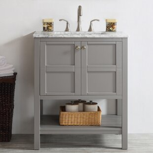 Distressed Bathroom Vanity | Wayfair