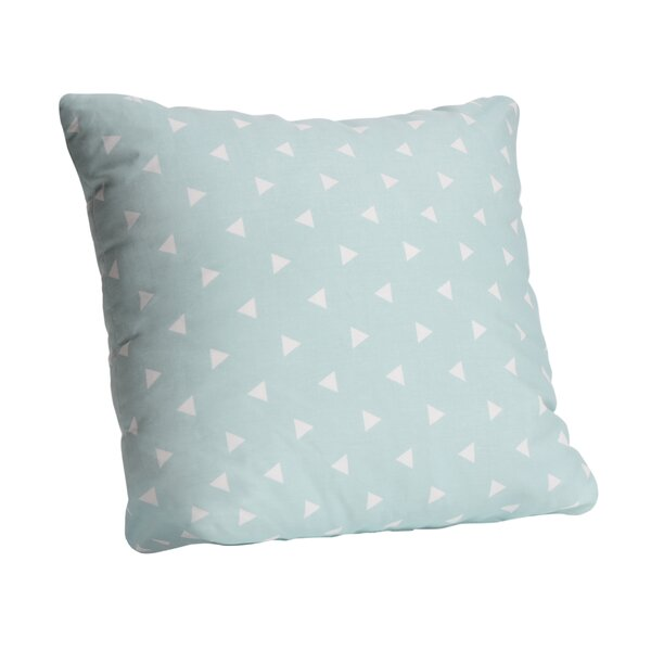 Triangle Cotton Throw Pillow by KidiComfort