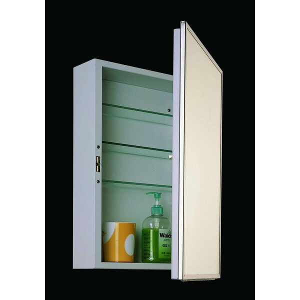 Schloss 18 x 24 Recessed Medicine Cabinet by Winston Porter