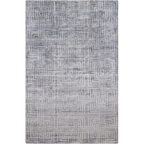 Terrance Slate Geometric Area Rug by Corrigan Studio