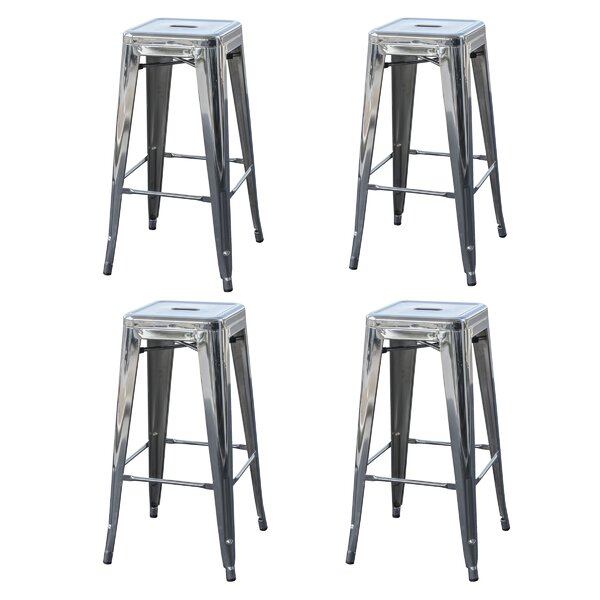 Shelli 30 Bar Stool (Set of 4) by Williston Forge