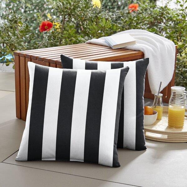 Elisa Indoor/Outdoor Throw Pillow (Set of 2) by Breakwater Bay