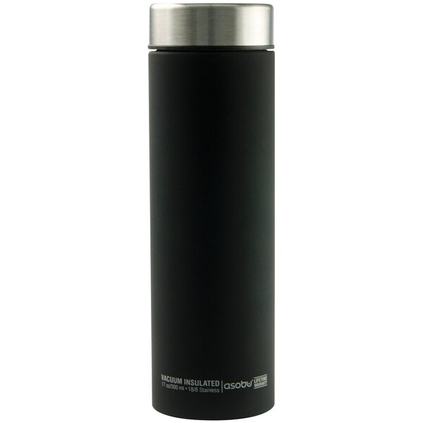 Le Baton 17 oz. Stainless Steel Travel Bottle by Asobu