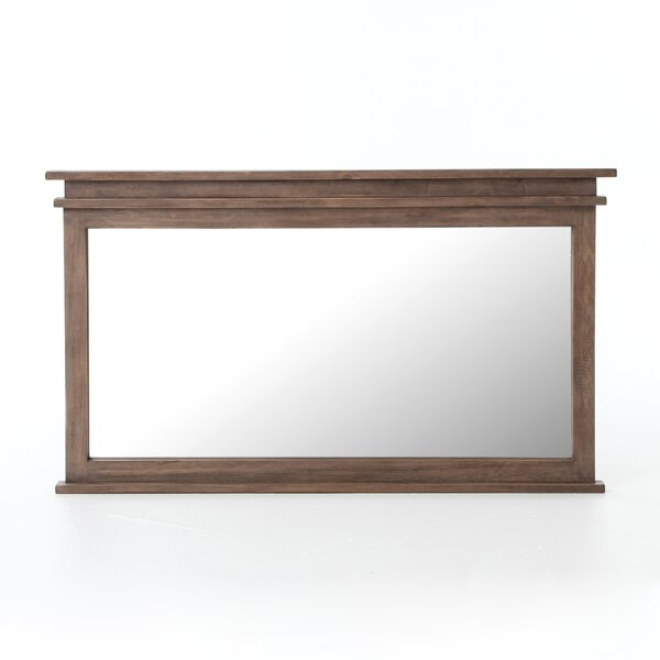 Dunlevy Sundried Ash Wall Mirror by Gracie Oaks