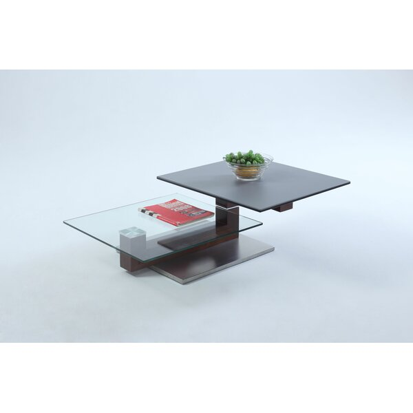 Pedestal Coffee Table By Chintaly Imports
