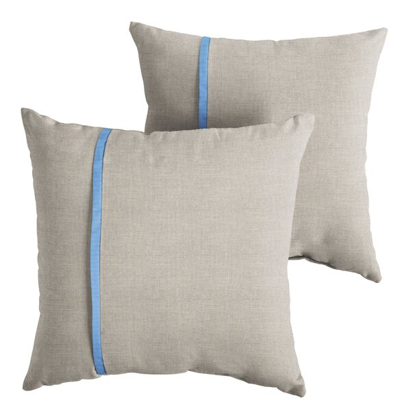 Ansel Indoor/Outdoor Throw Pillow (Set of 2) by Longshore Tides