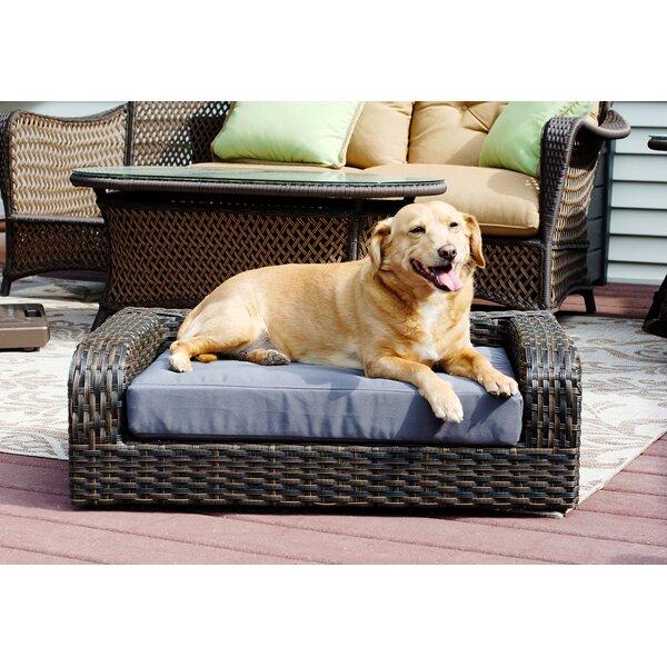 Rattan Dog Sofa by Iconic Pet