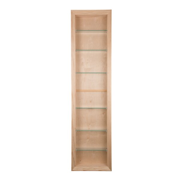 Newberry 14 W x 54 H Shelving by WG Wood Products