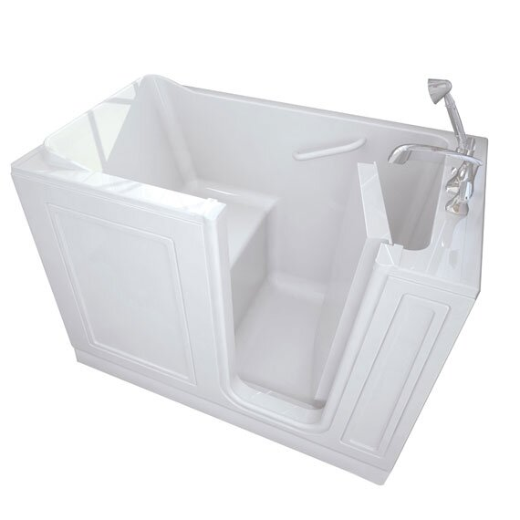 48 x 28 Walk-In Right Hand Combo Whirpool by American Standard