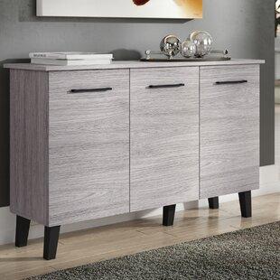 Lusby Fiberboard 3 Door Cabinet