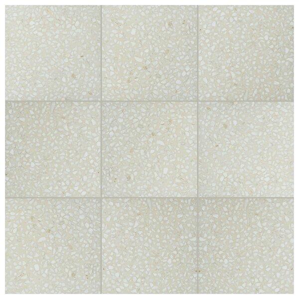 Parma Amalfi 11.5 x 11.5 Porcelain Field Tile in Crema by EliteTile