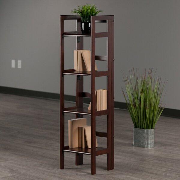 Calfee Folding Etagere Standard Bookcase By Red Barrel Studio