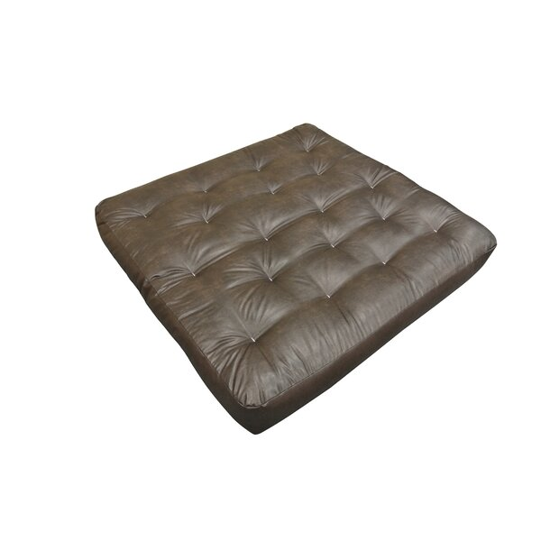 Feather Touch II 9 Cotton Loveseat Size Futon Mattress by Gold Bond
