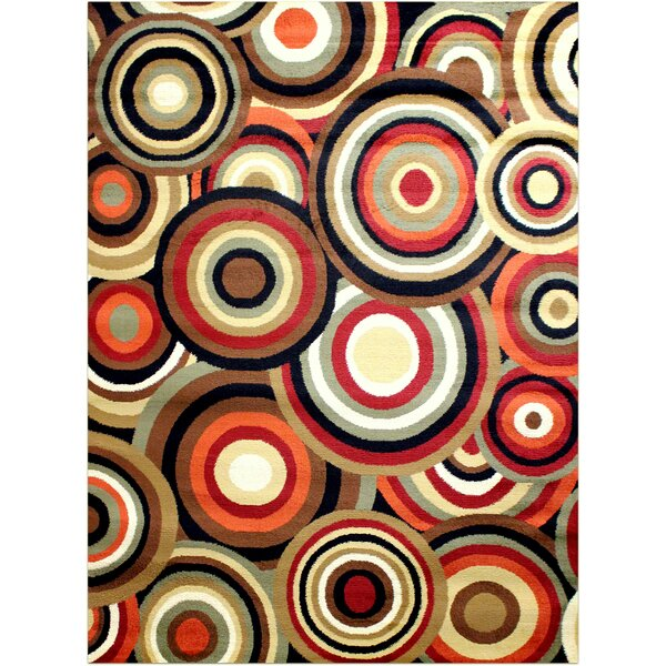 Red Area Rug by Brady Home