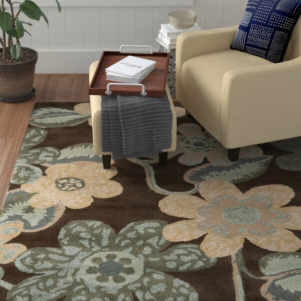 Mccullough Brown Area Rug by Winston Porter