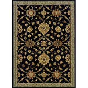 Coar Black /Blue Area Rug By Astoria Grand