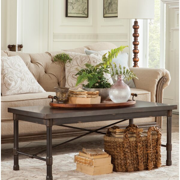 Selena Industrial Coffee Table by Trent Austin Design