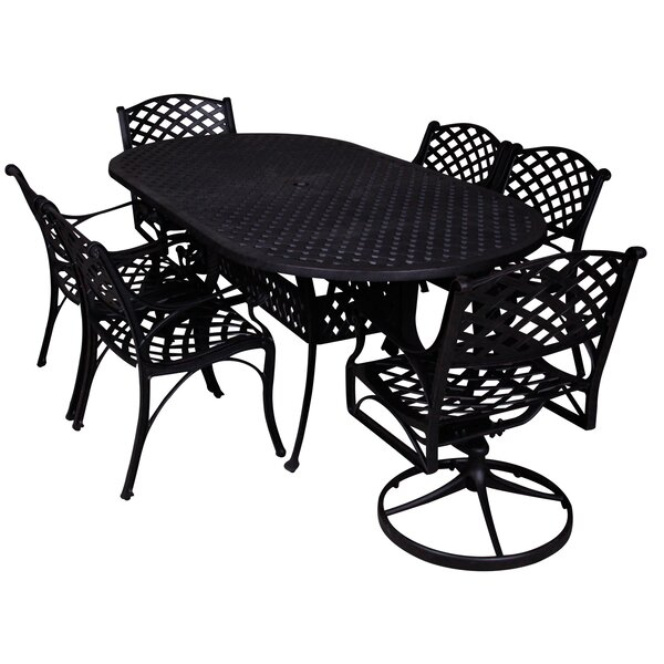 Aldrich 7 Piece Dining Set by Darby Home Co