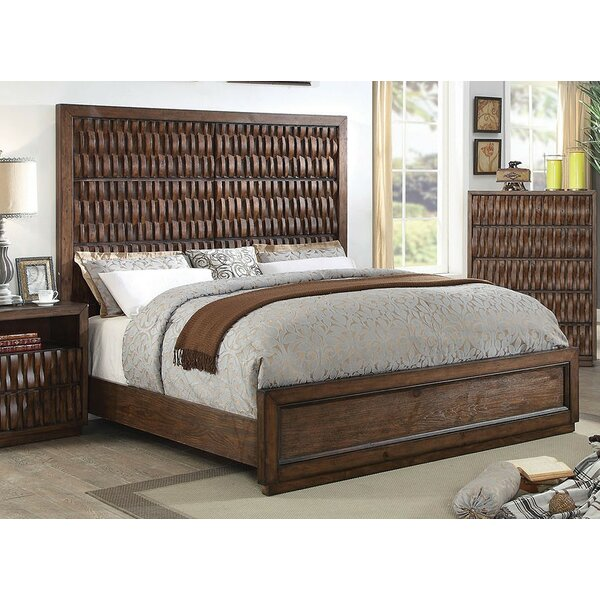 Barba Panel Bed by A&J Homes Studio
