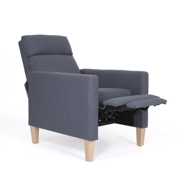 Strother Fabric Manual Recliner by Wrought Studio