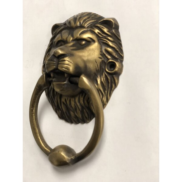Brasso Lion Head Door Knocker by D-Art Collection