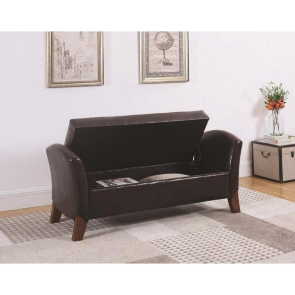 Kivett Upholstered Storage Bench by Latitude Run