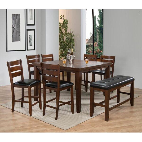 Lowndesboro 8 Piece Pub Table Set by Red Barrel Studio