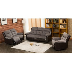 Tavistock 3 Piece Living Room Set by Red Barrel Studio