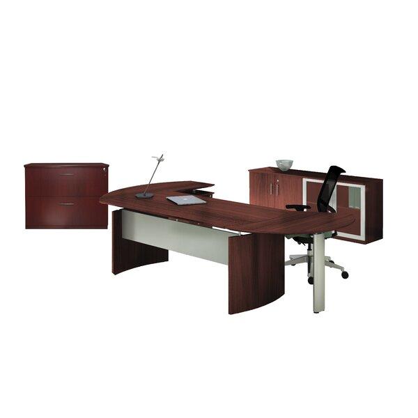 Medina Series 3-Piece L-Shape Desk Office Suite by Mayline Group