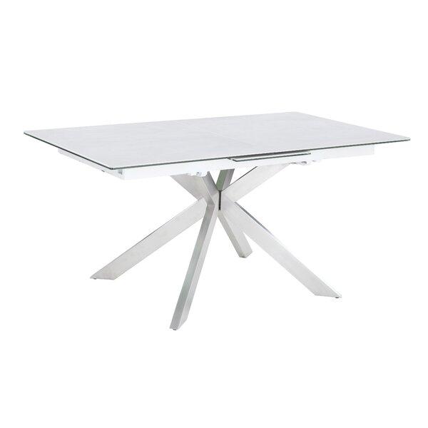 Nala Extendable Dining Table by Orren Ellis