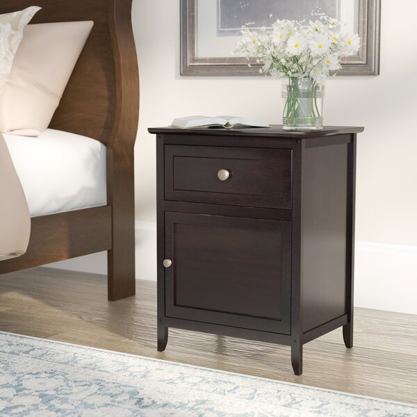 Walhill End Table With Storage by Charlton Home