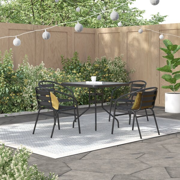 Jahiem 5 Piece Bistro Set By Zipcode Design