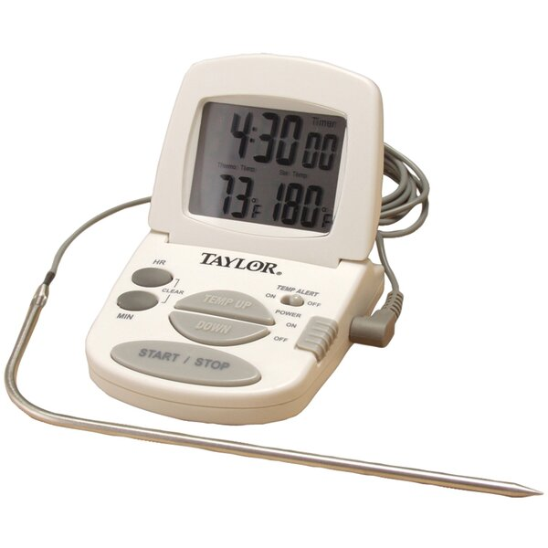 Cooking Digital Timer and Thermometer by Taylor