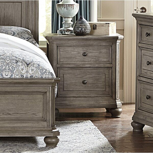 Karlee 2 Drawer Nightstand by Charlton Home