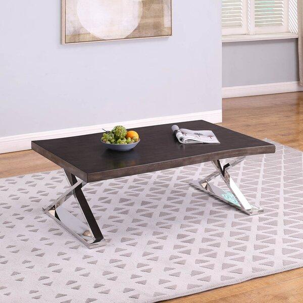 Latitude Run Wood Top Coffee Tables