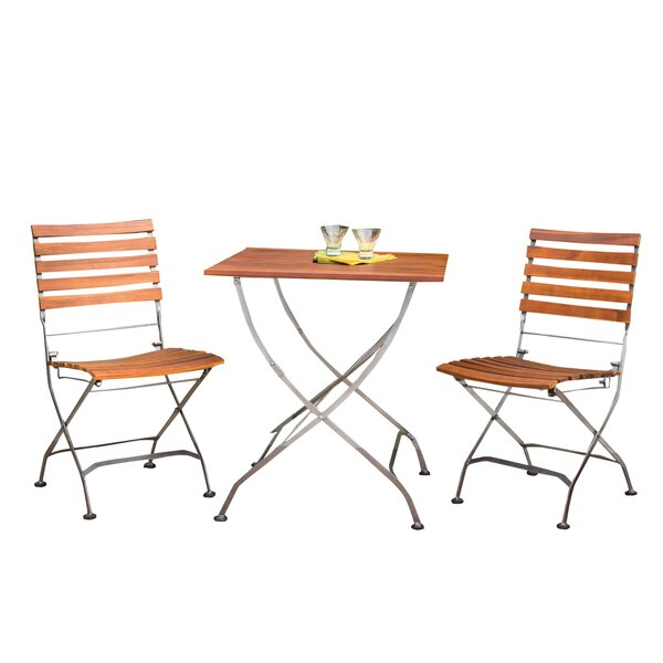Phat Tommy Galleria 3 Piece Bistro Set by Buyers Choice