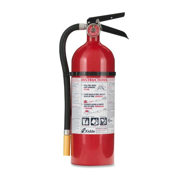 Kidde Pro 5 ABC - Multipurpose Dry Chemical Fire Extinguisher by Kidde